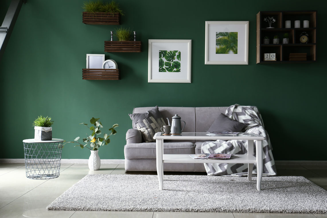 Add a Touch of Green